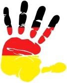 bandera aleman